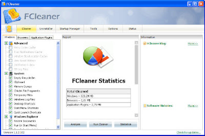 Download FCleaner Portable 1.1.4.129