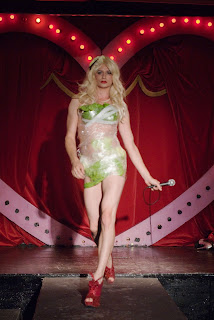 Lady Gaga Lettuce dress