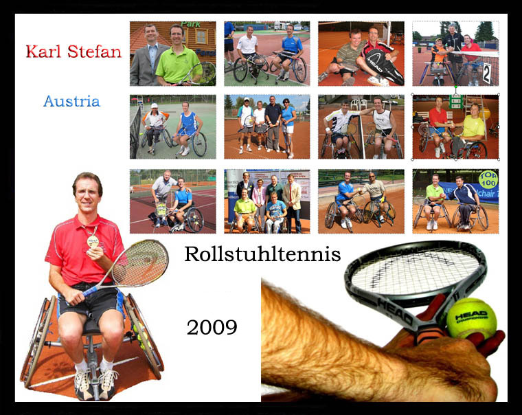 Karl Stefan  -   Rollstuhltennis