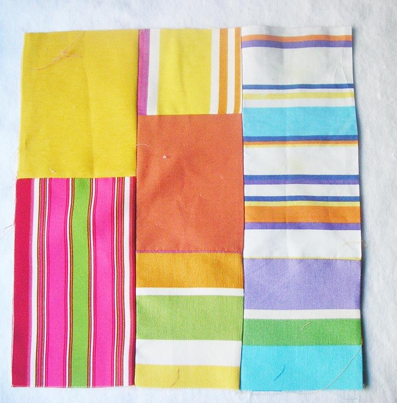Manteles individuales con trozos de tela manualidades for Manteles individuales de tela
