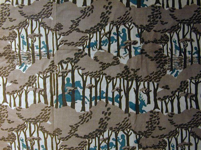 Hurter Designers Tapeten : 1930s French Textile