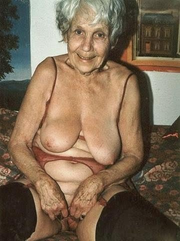very old grandma