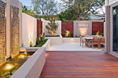 Jardines y casas rincones del jardin for Disenos de patios pequenos modernos