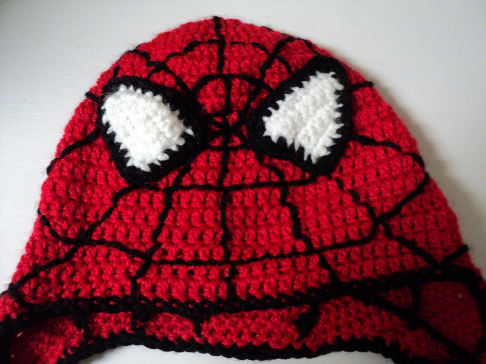 Luv Boopa: Spiderman Crochet Hat