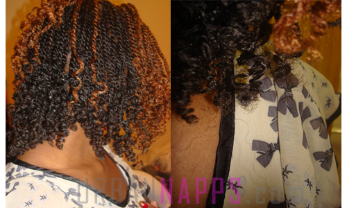 She told me that the best hair for kinky twist was: