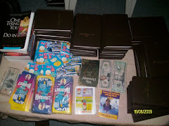 New Testament bibles, ready to be distributed