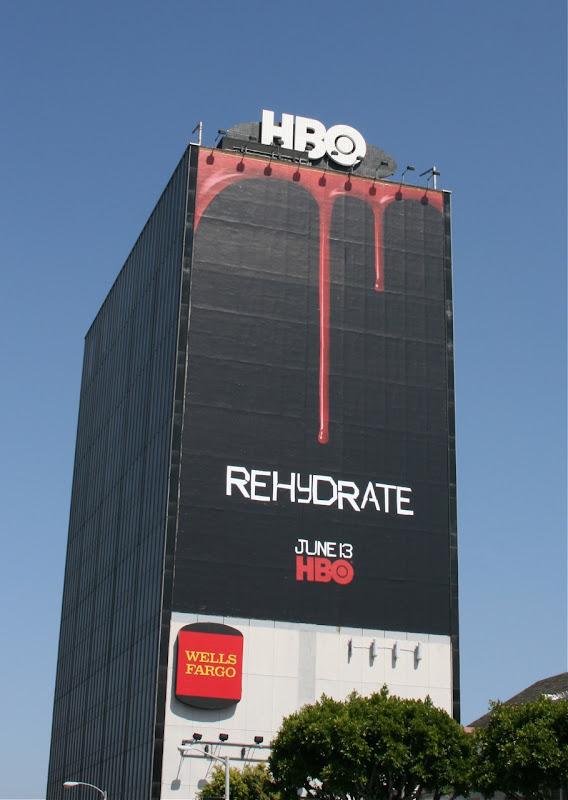 true blood billboard. TV show, True Blood.