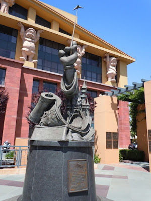 Disney Studios Disney Legends statue