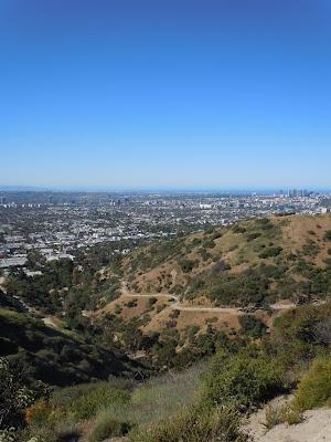Blue skies over LA Basin