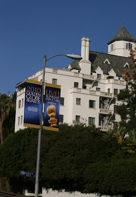 2010 Golden Globe Awards banner
