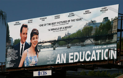 An Education film billboard