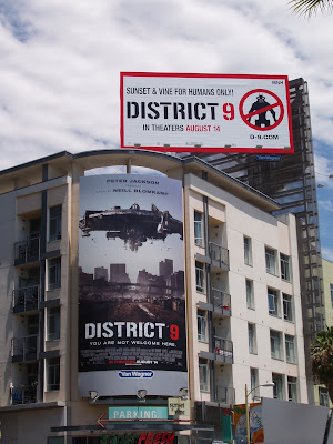 District 9 movie billboards