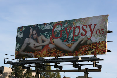 Gypsy sexy fashion billboard