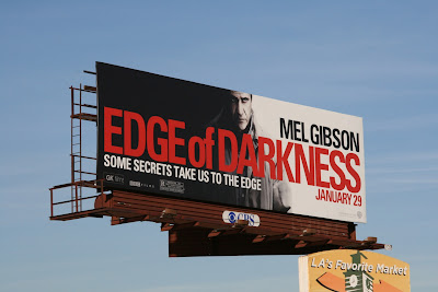 Edge of Darkness movie billboard