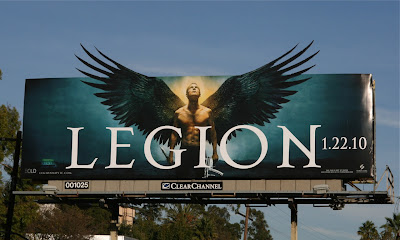 Legion film billboard