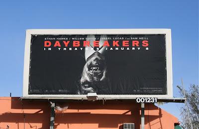 Daybreakers film billboard