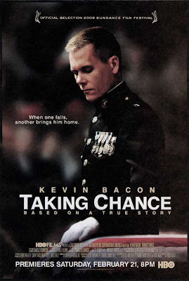 Kevin Bacon Taking Chance poster