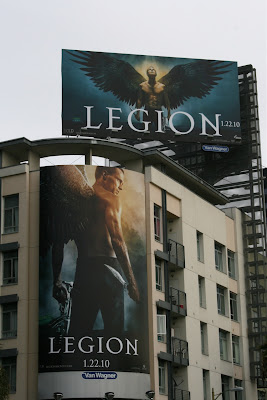 Legion film billboards