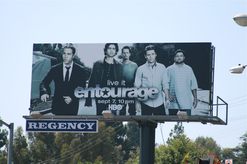 Entourage season 5 TV billboard