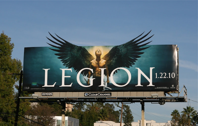 Legion movie billboard