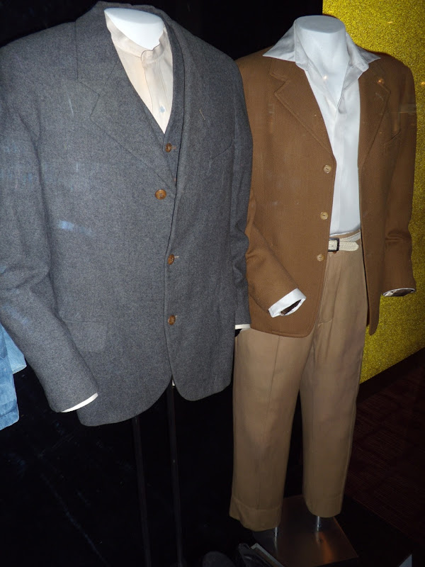 Al Jolson and James Dean movie costumes