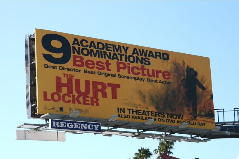 The Hurt Locker movie billboard