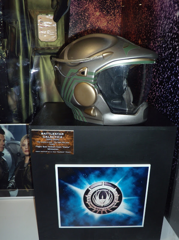 Battlestar Galactica Viper flight suit helmet