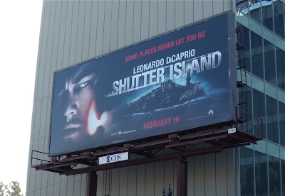 Shutter Island film billboard