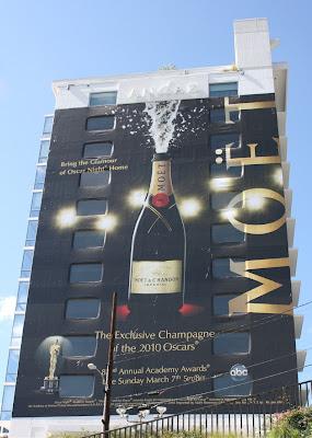 Moet Champagne Oscar billboard