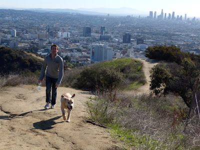 Cooper's Boxing Day 08 Runyon Canyon hike