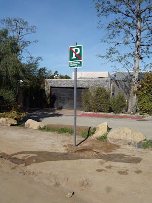 Runyon Canyon car park sign