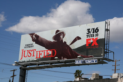 Justified FX billboard