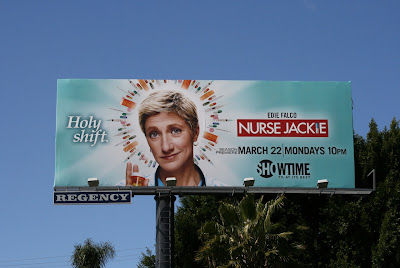 Nurse Jackie Holy Shift TV billboard