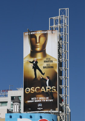 82nd Oscars billboard