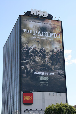 The Pacific TV mini-series billboard