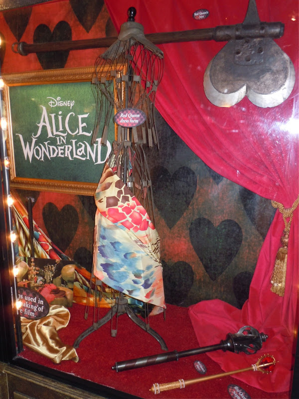 Alice in Wonderland movie props