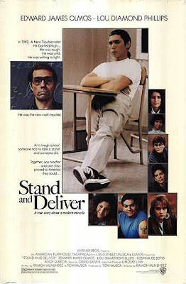 Stand and Deliver movie poster