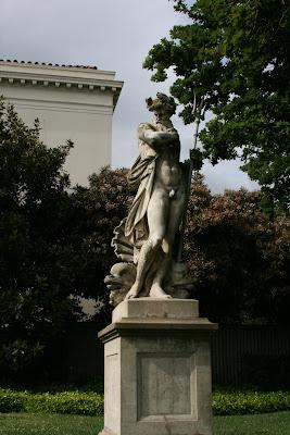 Poseidon Statue Huntington Gardens