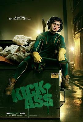 Kick-Ass Dave Lizewski poster