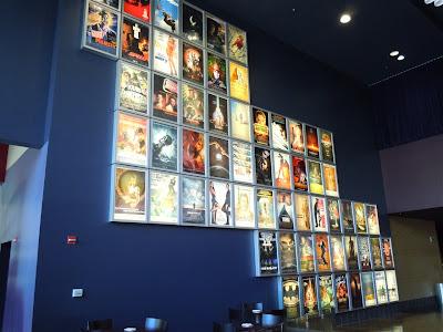 ArcLight Pasadena movie image wall