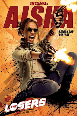 Aisha The Losers film poster