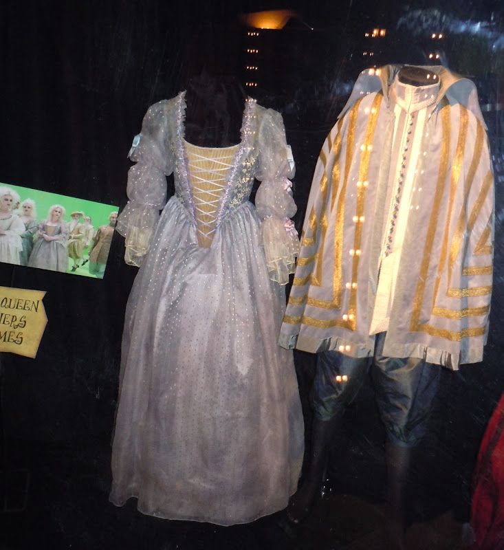 White Queen Courtiers movie costumes