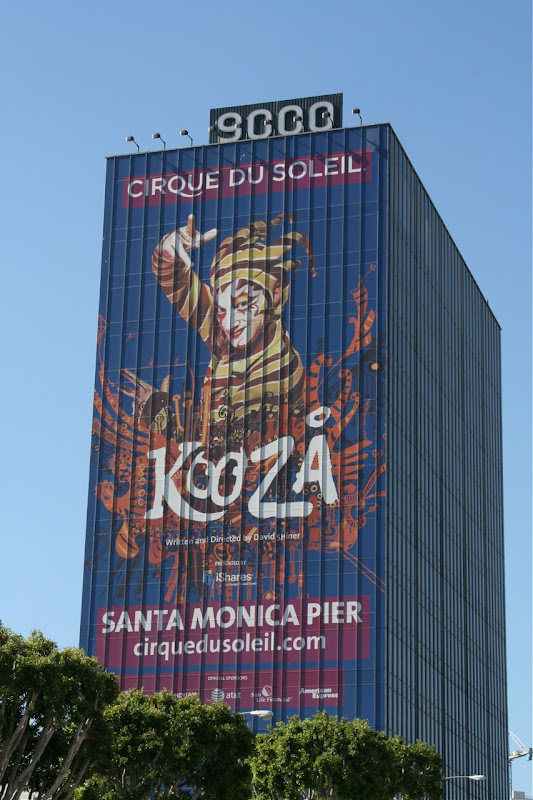 Cirque du Soleil Kooza billboard