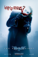 The Dark Knight - The Joker: Why so serious? movie poster