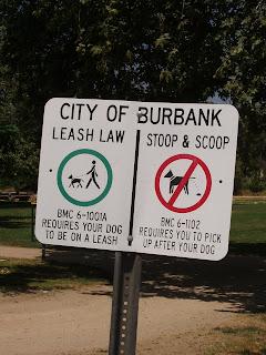 Dog laws in Burbank