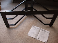 How to assemble a TV stand - part three!