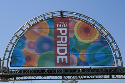Gay Pride Festival Entrance
