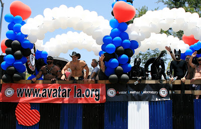 Avatar LA leather boy float