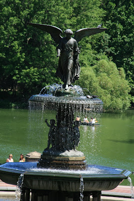 Bethesda Fountain in Central Park