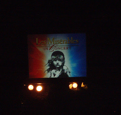 Les Miserables in Concert at the Hollywood Bowl Los Angeles on 9 August 2008